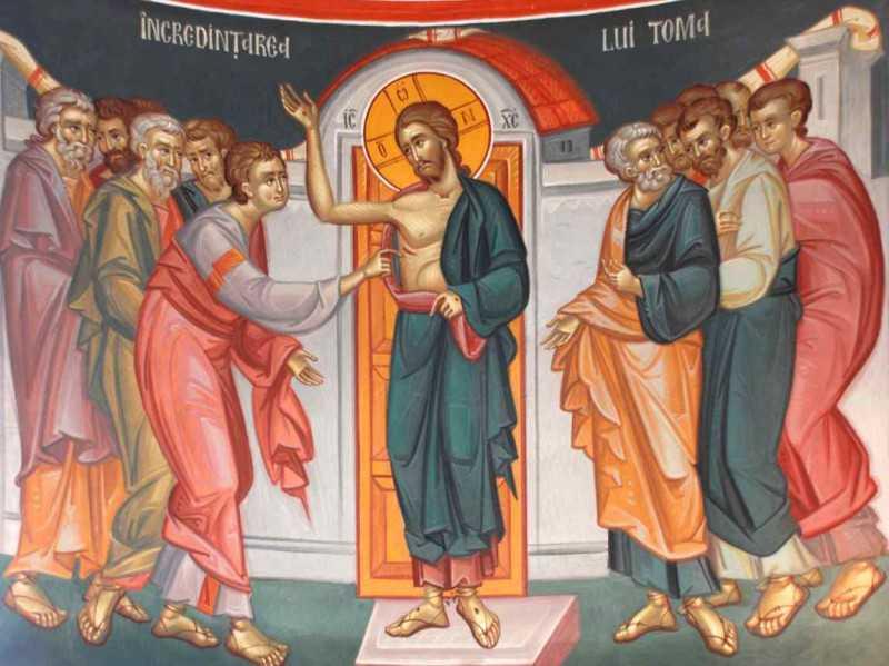 CE FEL DE MARTURISITORI AI INVIERII SUNTEM? LUCREAZA VIATA LUI HRISTOS IN NOI? Cuvantul Vladicai Antonie de Suroj la Duminica Sfantului Apostol Toma