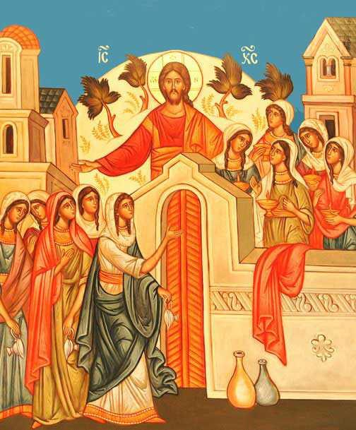 Hristos si cele 10 fecioare