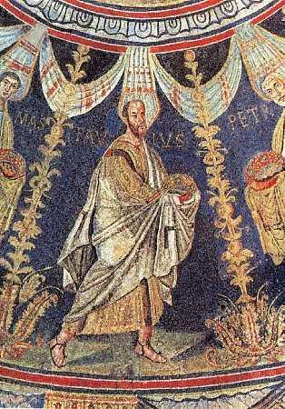 ib417_0Sfântul Apostol Pavel, mozaic, Baptisteriul lui Neon, Ravenna, sec. V.