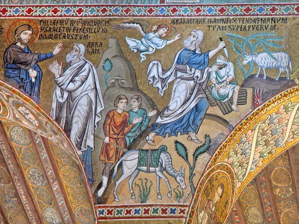 Le sacrifice d'Isaac par Abraham