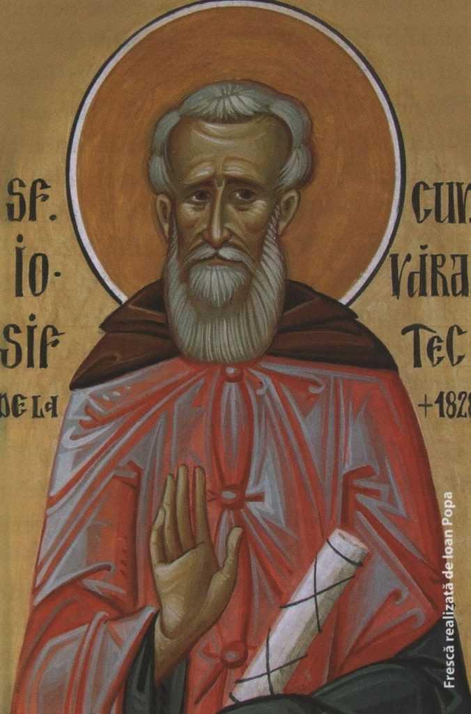 Sf Iosif de la Varatec - fresca de Ioan Popa - FO