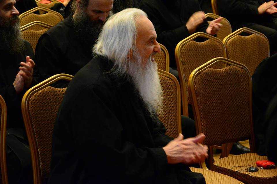 PARINTELE RAFAIL, in ce-a de-a doua interventie la Colocviul duhovnicesc de la Iasi, despre NEVOIA DE REVENIRE LA INTELESURILE DUHOVNICESTI AUTENTICE: <i>Ce este pocainta?</i> (VIDEO)