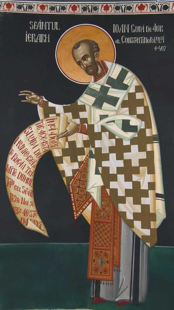 sfantul-ioan-gura-de-aur-fresca-de-ioan-popa-manastirea-afteia-jud-alba