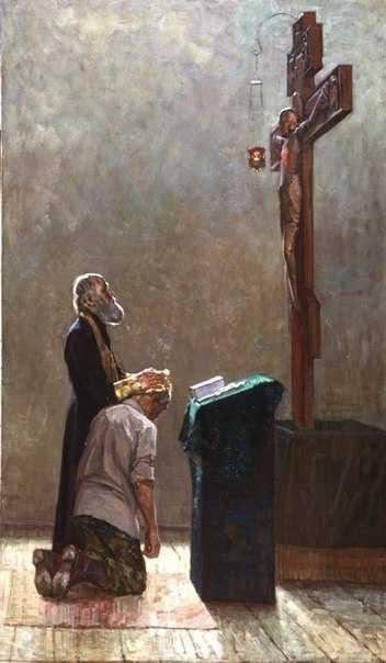 <i>Spovedania inaintea lui Hristos cel Rastignit</i>. CUM AR TREBUI SA NE PREGATIM PENTRU TAINA SPOVEDANIEI SI SA NE FACEM MARTURISIREA PACATELOR?