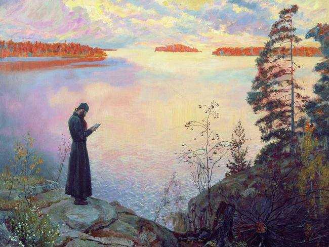 SFANTUL NICOLAE VELIMIROVICI, NOUL HRISOSTOM, &#8220;Rugaciuni pe malul lacului&#8221;: <i>&#8220;Sculati-va, o, pacatosilor si incepeti a suspina dinaintea Lui, fiindca doar mana Sa nu arunca cu pietre in voi&#8221;</i>