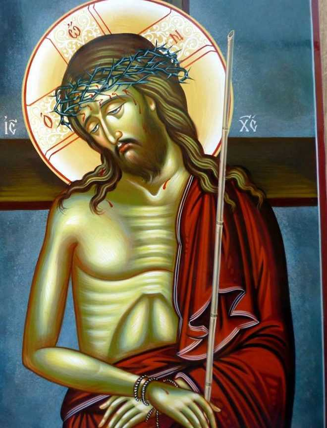 Mirele Hristos rastignit - sfanta smerenie a lui Dumnezeu