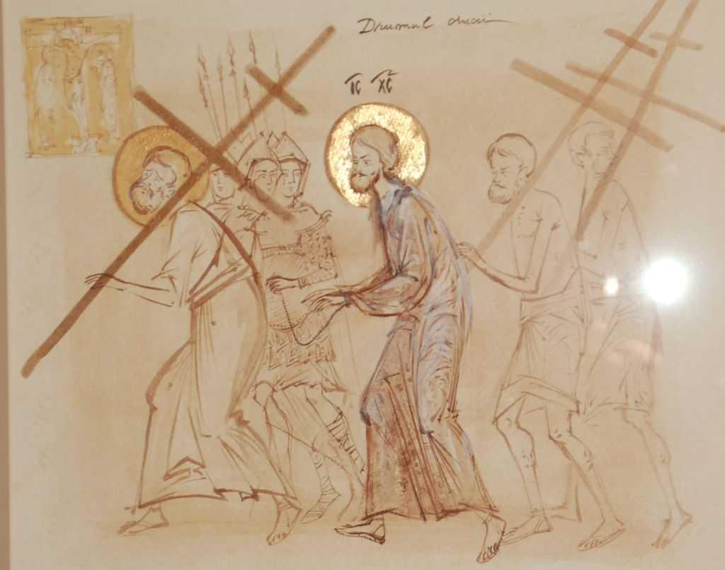 """SĂPTĂMÂNA MARE – hotarul judecăţii noastre. SCANDALUL CRUCII ÎN VIAŢA NOASTRĂ şi ALTOIREA NOASTRĂ LA TAINA PĂTIMIRII DOMNULUI: <i>""""Atâta vreme cât omul rămâne izolat în dreptăţile lui, nu are nicio legătură cu Hristos cel Răstignit""""</i>"""
