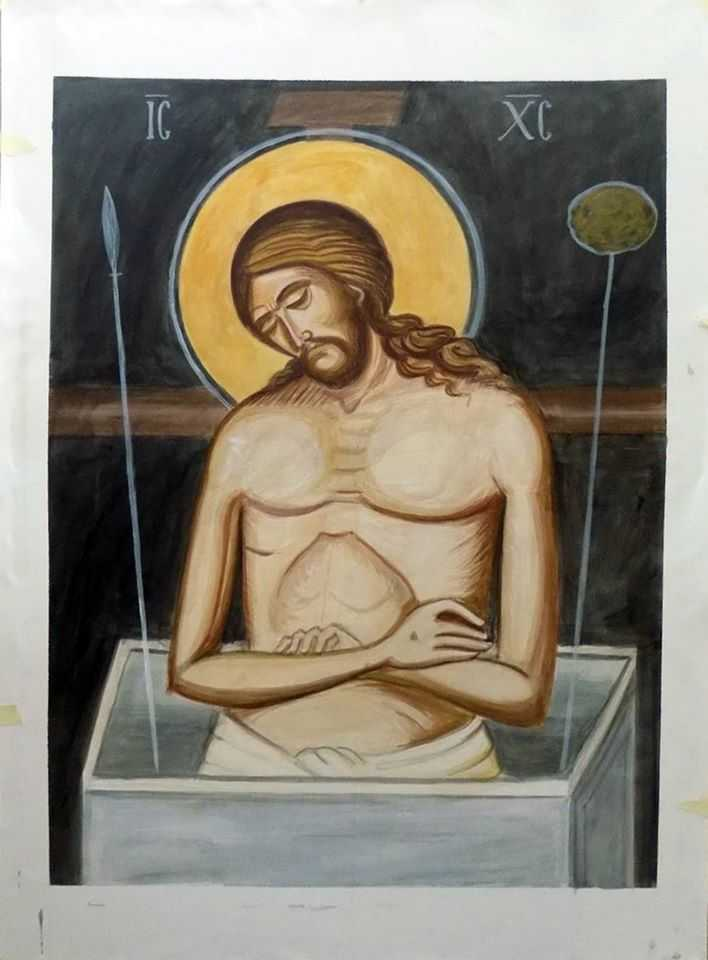 <i>&#8220;Hristos, Dumnezeul nostru, S-a asemănat pe Sine cu un Mire Sfânt, Preafrumos&#8230;&#8221;</i>