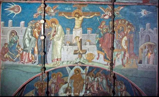 """PREASFINȚITUL MACARIE: <i>&#8220;Putem zăvorî bucuria Învierii în inima noastră doar dacă nu părăsim drumul dureros al răstignirii""""</i>"""