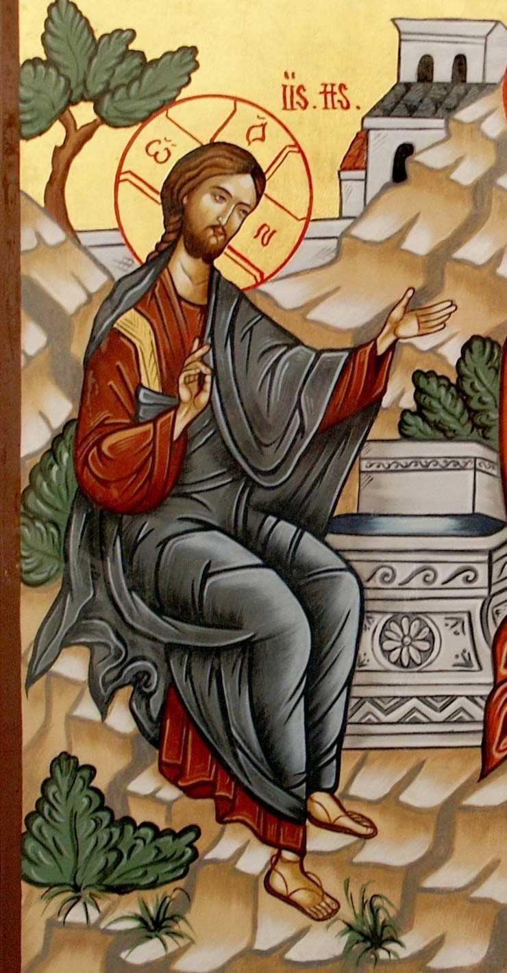 Hristos daruieste apa vie