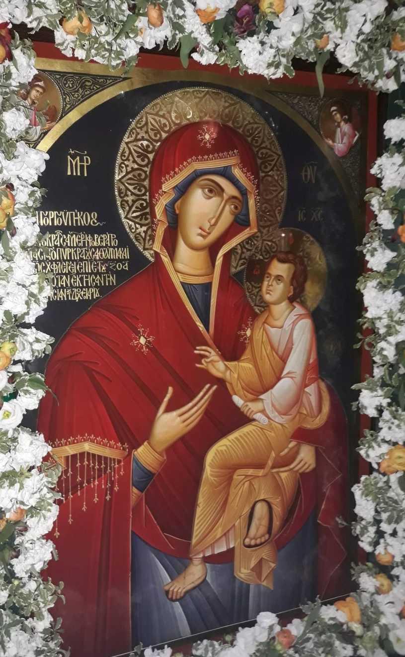 RUGACIUNI LA MAICA DOMNULUI GRABNIC-ASCULTATOAREA. Paraclisul icoanei facatoare-de-minuni de la Manastirea Dochiariu, care vindeca de mutenie, a carei copie a fost adusa la Biserica Sfantul Grigorie Palama/ SLUJBE IN CINSTEA ACOPERAMANTULUI MAICII DOMNULUI (video)