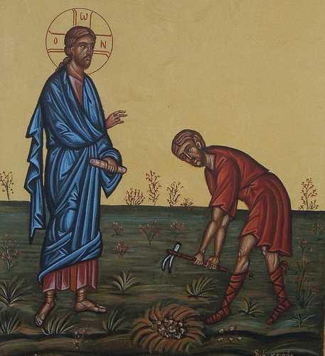 <i>&#8220;Dumnezeu lucrează! HAIDEȚI SĂ NE OPRIM DIN VUIETUL ȘI IUREȘUL ÎN CARE TRĂIM, să vedem ce vrea să ne spună, care e mesajul pentru noi&#8221;</i> &#8211; Cuvântul Părintelui IEREMIA de la Putna la Evanghelia Semănătorului (VIDEO, TEXT)