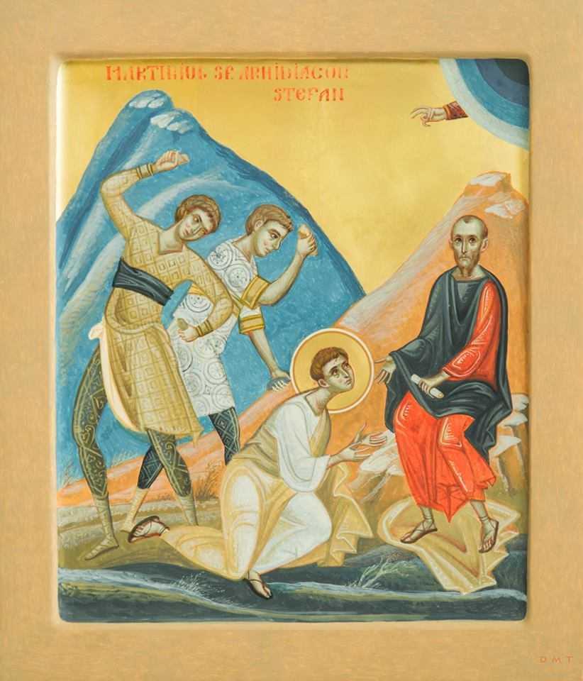 """SFÂNTUL ÎNTÂI MUCENIC ȘTEFAN, arhidiaconul mărturisitor în Duhul Sfânt. PS DAMASCHIN DORNEANUL: <i>Oare a trecut vremea mărturisirii?</i> TOATĂ LUMEA SE TEME ACUM, NU MAI SUNTEM OAMENI LIBERI, CI OAMENI UȘOR DE CONTROLAT! <i>&#8220;Nu dobândim CURAJUL atunci când ne negăm FRICILE, ci când le ÎNFRUNTĂM""""</i> (video, audio)"""