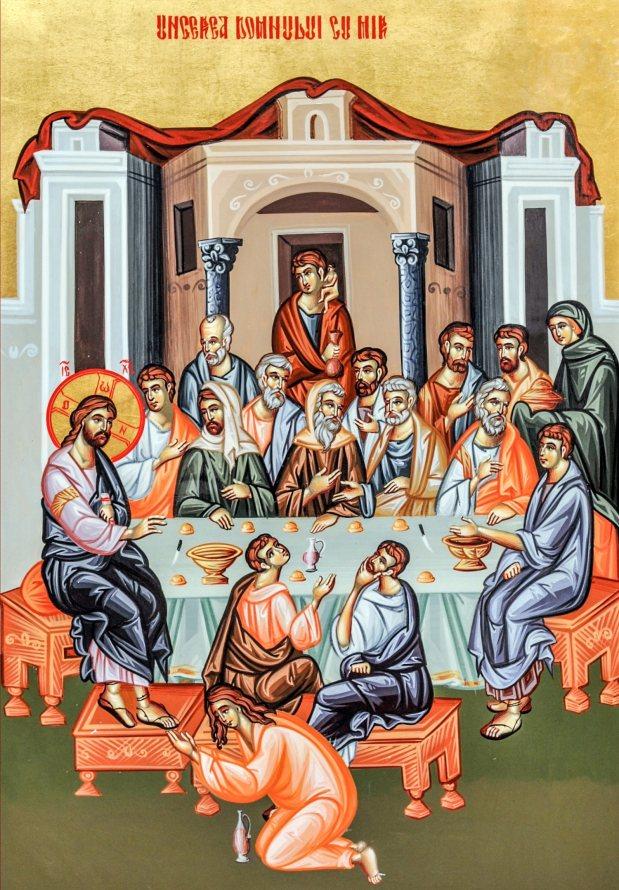 """SĂ NE VĂRSĂM VIAȚA CA UN MIR LA PICIOARELE LUI IISUS și să nu Îl vindem sau să Îl părăsim, precum IUDA, pentru SLAVA ACESTEI LUMI! Ce înseamnă <i>""""să-ți urăști sufletul în această lume""""</i>? (Predici minunate, slujbe și cântări străpungătoare la Sfânta zi de Miercuri a Săptămânii Pătimirilor)"""