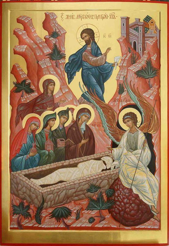 FEMEILE PURTĂTOARE DE IUBIRE sunt devotate până la capăt și nu părăsesc pe Cel rămas singur și batjocorit. GLASUL LUI DUMNEZEU NE CHEAMĂ PE NUME, IAR DRAGOSTEA LUI NE ÎNVIAZĂ. Însuflarea și curajul de a urma lui Hristos primite din AȘTEPTAREA VIE A ÎMPĂRĂȚIEI SALE (Predica video a PS Ignatie Trif și omilia Arhim. Zaharia Zaharou)