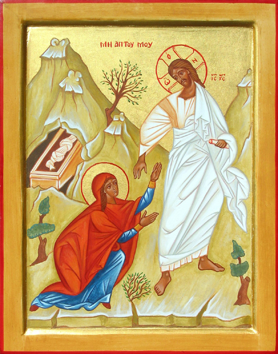 """<i>""""Cine ne va despărţi pe noi de iubirea lui Hristos?""""</i>. MĂRIMEA DE SUFLET, SMERENIA, EVLAVIA ȘI INIMA ARSĂ DE DORUL LUI HRISTOS BIRUIESC ORICE PERICOL, ORICE FRICĂ ȘI PRIMESC BUCURIA ÎNVIERII. <i>""""Această iubire le-a făcut, din femei slabe, fricoase, mai tari decât toate protivniciile lumii, le-a făcut mai tari ca moartea""""</i>"""