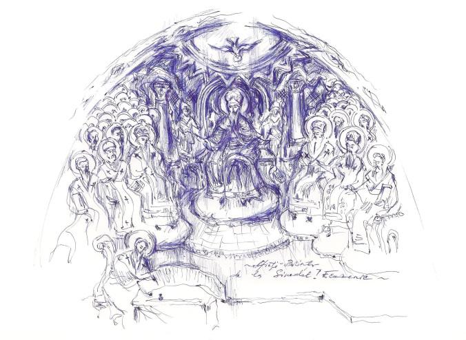 """<i>""""Tu cu mine esti!""""</i> – DEZBINAREA, NEIUBIREA, INDIFERENTA, SUCCESUL DE-UNUL-SINGUR, ILUZIA UNUI """"ALT BINE"""" vs. DARUL DRAGOSTEI si al UNIMII IN BISERICA – TRUPUL LUI HRISTOS. Predica Parintelui Dosoftei de la Putna la Duminica a VII-a dupa Pasti (audio, text)"""