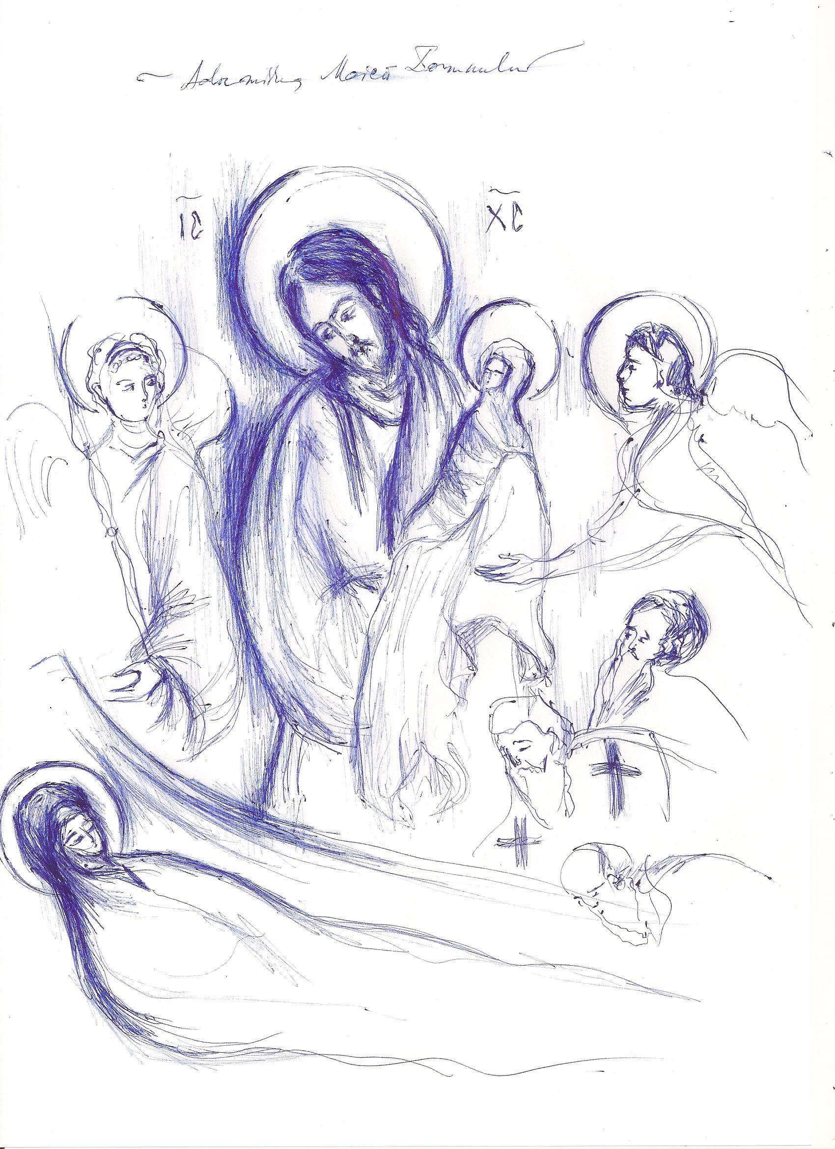 """MAICA DOMNULUI, IZVORUL PACII SI AL BUCURIEI NOASTRE. Slujbele hramului Manastirii Putna si marturii ale credinciosilor (VIDEO). Predica Staretului TADEI la Adormirea Preasfintei Nascatoare de Dumnezeu: <i>""""Ori de câte ori o căutăm din inimă pe Preasfânta Maică, ea este nelipsită. Ori de câte ori cădem către ea din inimă, ne este aproape ca să ne ajute. Ea este neîncetat și necontenit cu noi – dar noi o uităm""""</i>"""