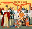 ÎMPĂRĂȚIA CA O NUNTĂ A ÎMPREUNĂ-BUCURIEI. <i>&#8220;Luminează-mi haina sufletului!&#8221;</i>. SMERENIA &#8211; HAINA MIRELUI. Predica Protos. Hrisostom de la Putna la Duminica a 14-a dupa Rusalii (VIDEO, TEXT)