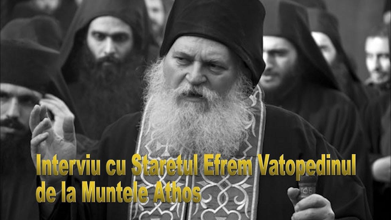 SUSTINERE PENTRU REFERENDUM din SFANTUL MUNTE ATHOS. Staretul EFREM de la VATOPEDU si Parintii Schitului PRODROMU ii indeamna pe români la MARTURISIRE prin vot si prin cuvantul de propovaduire si ii sfatuiesc <i>&#8220;sa nu-si plece urechea la soaptele insuflate de cel viclean pentru a-i abate de la participarea la Referendum&#8221;</i>
