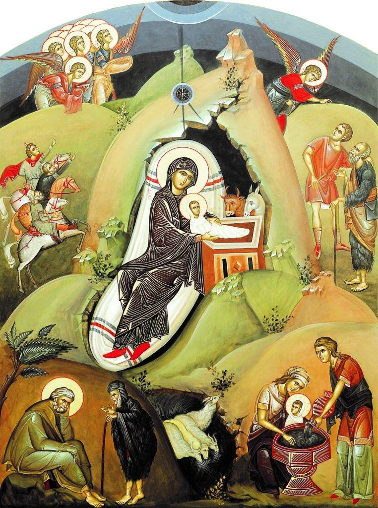 """FRAȚI ȘI SURORI, HRISTOS SE NAȘTE! – Cuvânt la Nașterea Domnului al SFÂNTULUI NICOLAE VELIMIROVICI în urmă cu o sută de ani: <i>""""Fraților, Hristos ne vine în vizită. Cel mai curat și Cel mai mare oaspete Care în fiecare an ne colindă în chip nevăzut""""</i>"""