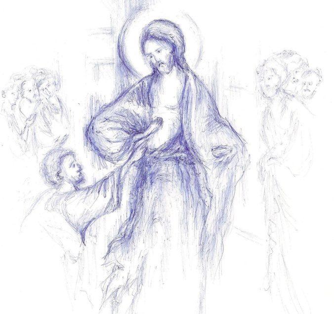 """Predica vie a PS MACARIE despre TANJIREA ARZATOARE dupa Domnul a Sfantului Apostol TOMA vs. formele de NECREDINTA distrugatoare din LUMEA DE AZI. Primejdia RATARII INTALNIRII CU DUMNEZEU si a pierderii roadelor duhovnicesti prin """"RELAXAREA"""" DE DUPA PASTI si, in general, prin NEGRIJA si influentele lumesti: <i>""""Sa nu ne lasam de rugaciune si de pocainta!""""</i>"""