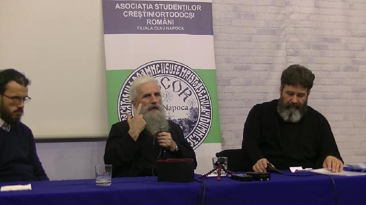 """PĂRINTELE ILARION DAN – noi extrase din conferința de la Cluj, despre PROVOCĂRILE care ne așteaptă ÎN ANII URMĂTORI și cum le-am putea face față (II): <i>""""Statul român este un stat doar pe hârtie. NU NE APĂRĂ NIMENI, să ştiţi, numai bunul Dumnezeu! BISERICA RĂMÂNE ULTIMA REDUTĂ și ea este pusă sub presiune""""</i>"""