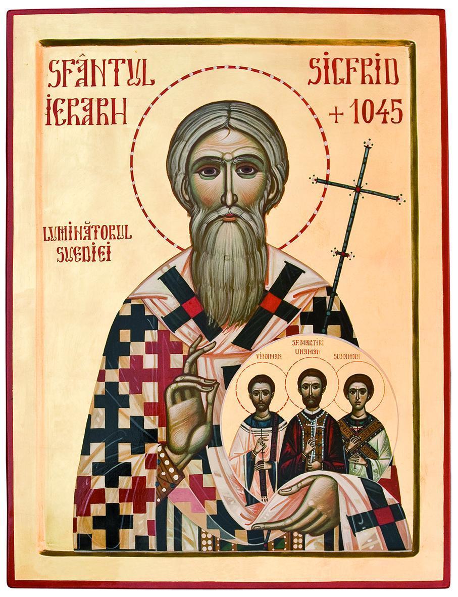 """Cuvântul Părintelui Episcop MACARIE la praznicul SFÂNTULUI IERARH SIGFRID, LUMINĂTORUL SUEDIEI: <i>""""Dacă suntem ai lui Hristos, suntem și urâți, și disprețuiți, și stigmatizați""""</i> (VIDEO, TEXT)"""