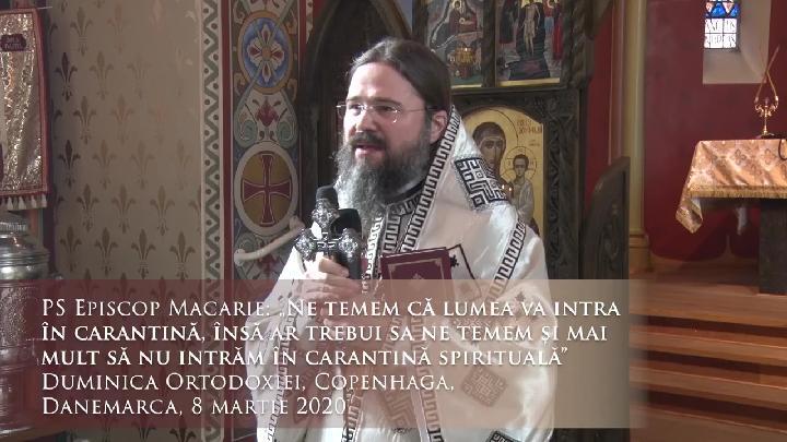 """PREASFINTITUL MACARIE despre reactia duhovniceasca la CRIZA CORONAVIRUSULUI – MESAJ IMPORTANT DE INCURAJARE SI INTARIRE in credinta si dragoste in ZILE DE CERNERE: <i>""""In vremuri de incercare trebuie SA STRANGEM RANDURILE. Orice s-ar intampla, noi, păstorii va suntem alaturi, va slujim si nu va abandonam!""""</i>"""