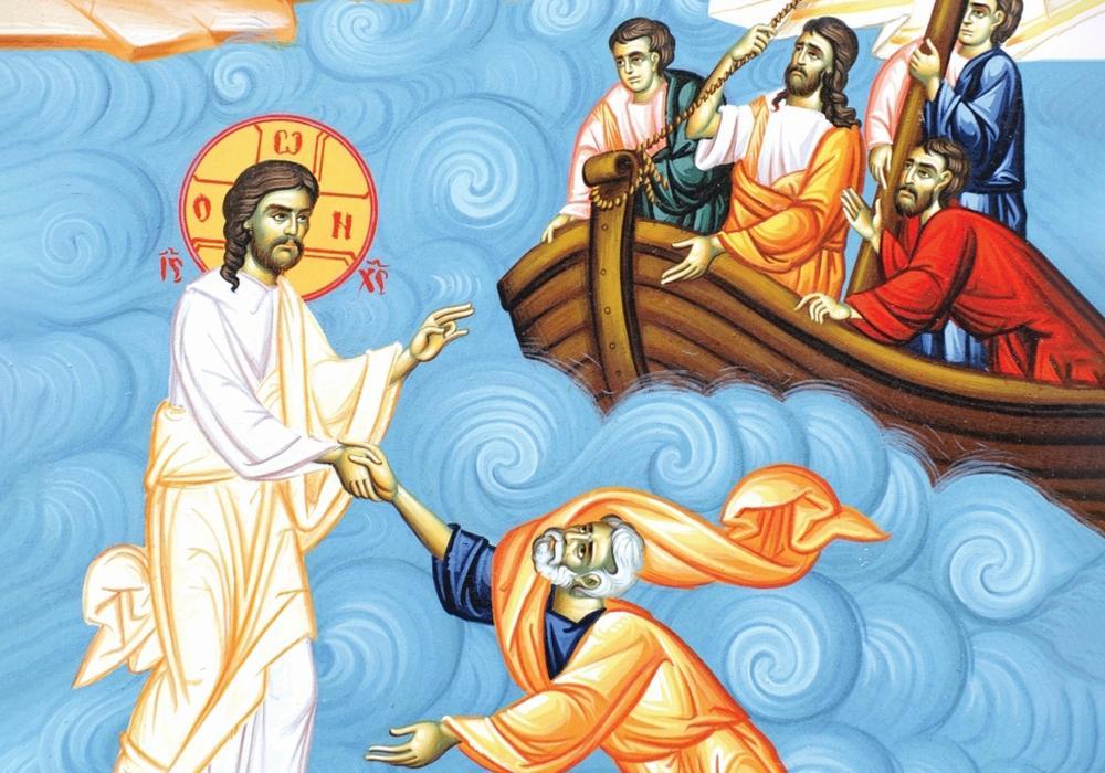 """IA MÂNA LUI HRISTOS! <i>""""Iar acum, cand suntem cuprinsi de frica, moarte, boli, prigoana si ura, sa stim ca in mijlocul acestei furtuni este Domnul Insusi""""</i>"""