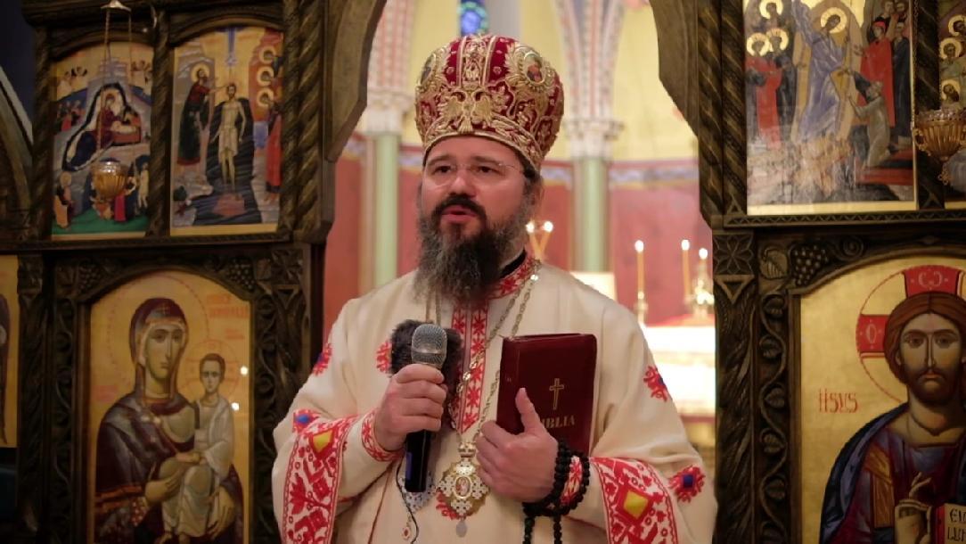 """PS MACARIE este """"ALĂTURI CU TOATĂ INIMA de părintele arhiepiscop TEODOSIE DE LA TOMIS și de pelerinii de la Peștera Sfântului Apostol Andrei!""""</i>: """"SĂ NU NE UITĂM ÎNAPOI, CI SĂ PRIVIM ÎNAINTE, LA ȚINTA HRISTOS!"""""""