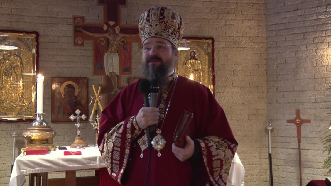 """EPISCOPUL MACARIE, la prăznuirea Sfântului Întâiului Mucenic Ștefan: <i>""""Cum procedează dușmanii necinstiți ai Bisericii? Mai întâi provoacă prin cuvânt, apoi recurg la calomniere și la defăimare""""</i>. PUTEREA RUGĂCIUNII COPIILOR: """"Pomeniți-i pe toți cei bolnavi, părăsiți sau însingurați, împreună cu copilașii!"""""""