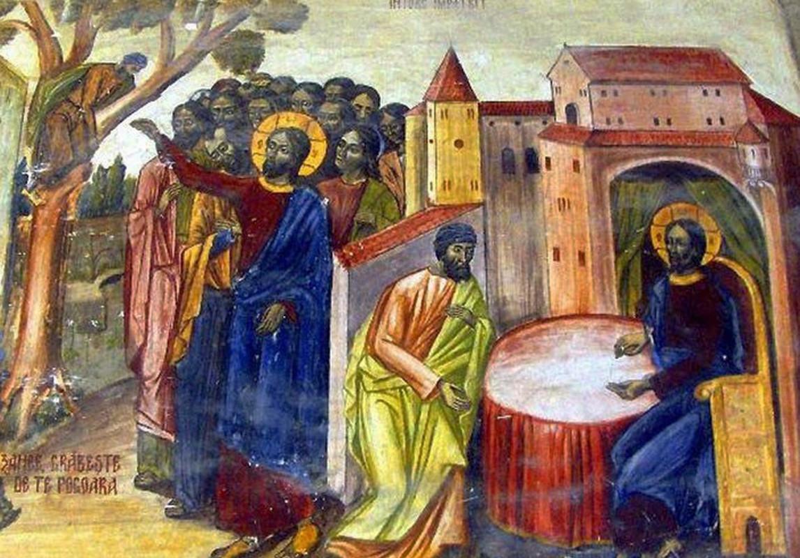 """IUBIREA LUI DUMNEZEU și CURAJUL LUI ZAHEU: <i>""""Nu te teme de judecata omeneasca, nu te teme nici de batjocura oamenilor. NU TE TEME! Uita de toate, priveste numai la Hristos!""""</i>/ """"HRISTOS TE IUBEȘTE, TE CHEAMĂ PE NUME, NU TE UITĂ…""""."""