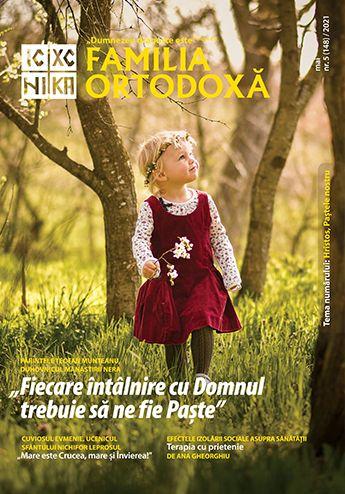 """PĂRINTELE TEOFAN DE LA NERA, interviu în Familia Ortodoxă: <i>""""Fiecare întâlnire cu Domnul trebuie să ne fie PAȘTE. Uitându-ne la MOARTEA din viaţa noastră, aşa poate deveni ÎNVIEREA o realitate mai pregnantă, mai deplină, mai dorită, mai tânjită""""</i>"""