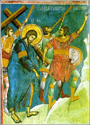 Sfantul Ioan Gura de Aur despre LEPADAREA DE SINE, LUAREA CRUCII SI URMAREA LUI HRISTOS
